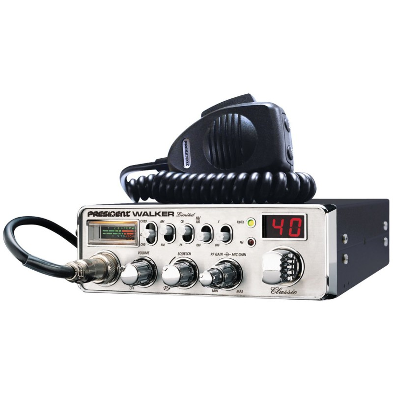Walker Limited Chrome - CB-Transceivers & accessories