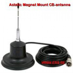 Astatic magneet CB-antenne