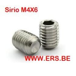 Sirio M4x6 Inbus