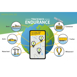 TrackJack Endurance (5 jaar standby)