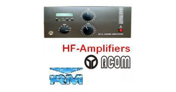 HF-Amplifiers 2 - 6 - 10-160m | ERS be