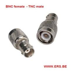 BNC fem - TNC male